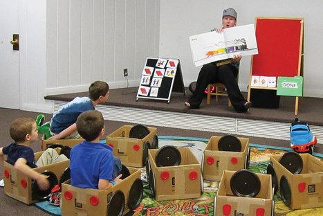 Une heure du conte pensée pour les enfants autistes | BiblioLivre | Scoop.it