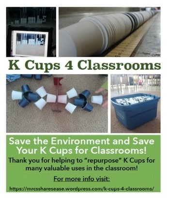 Great idea for using KCups in the classroom @cherandpete @keurigcanada @keurig | TCDSB Academic Information and Communication Technology | Scoop.it