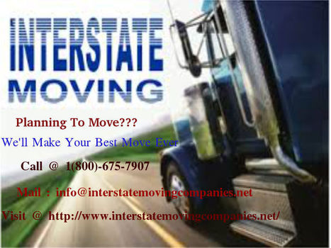 The Moving Service For Cross Country Mover   Choose A Trusted Interstate Movers   Scoop.it