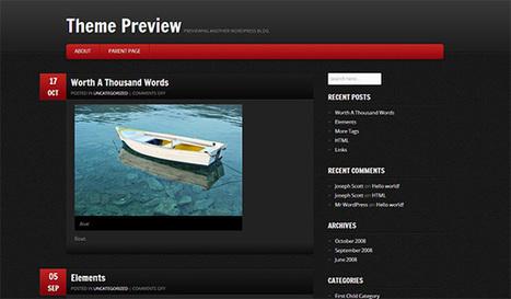 30 Inspirational Free WordPress Themes Released in Late 2012   WordPress 101   Scoop.it