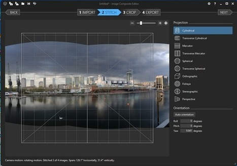 6 Free Tools to Create Stunning Panorama Photos | Education Technology - theory & practice | Scoop.it