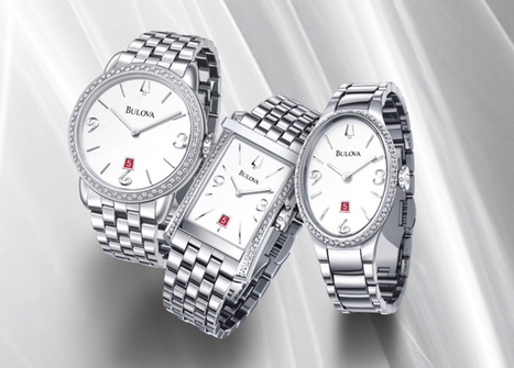 Bulova Diamond Gallery Collection Features Clean Lines and Elegant Details | Women fashion jewellery and watches | Scoop.it