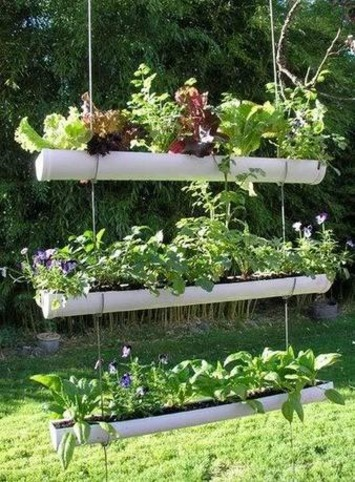 Herb Garden Inspiration & Ideas {Over 50 Pots, Planters, and Containers} - bystephanielynn   Container Gardening   Scoop.it
