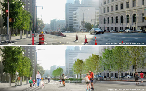 Brooklyn Bridge Crossroads: Landscape plan rebuilds a gateway to the iconic bridge | green streets | Scoop.it