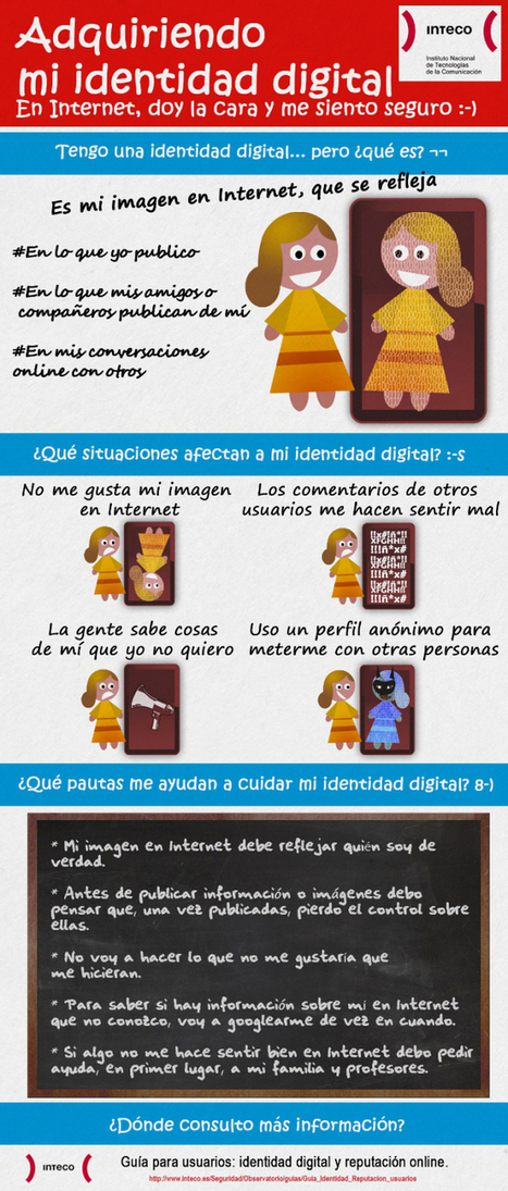 Adquiriendo mi identidad digital #infografia #infographic #internet ... | Identidad digital | Scoop.it