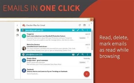 Etre notifié de la réception de nouveaux messages Gmail | Crack-net | Freewares | Scoop.it