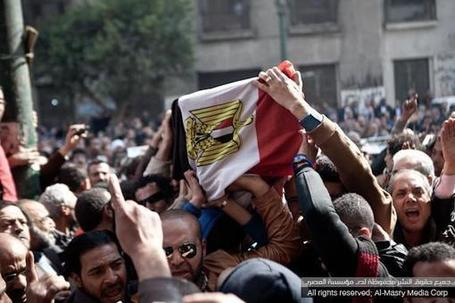 Angered by Gendy's death, protesters attack state buildings in Tanta | Égypte-actualités | Scoop.it