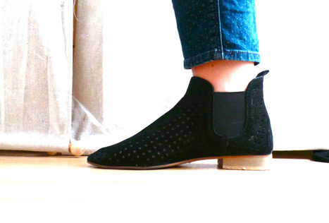 "Mes boots perforées, elles ""swag"" ! 