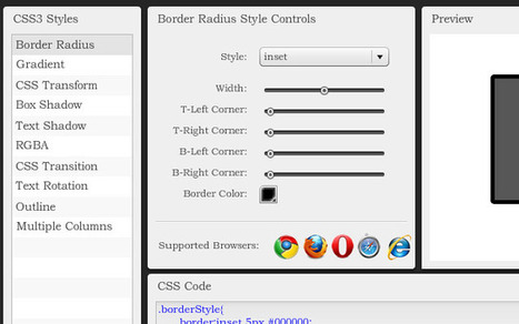 CSS3 Generator | Web | Scoop.it