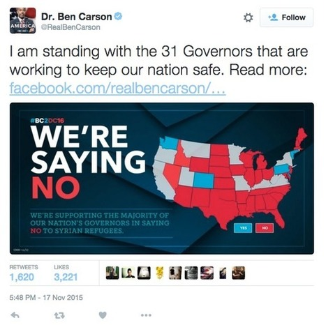 Ben Carson's campaign made a U.S. map and put a bunch of states in the wrong place | AP Human Geography Digital Knowledge Source | Scoop.it
