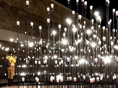 LED art installation – an escape from the labyrinth of light | Art and Interior Design | Scoop.it