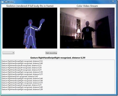 Kinect Recognizer | Kinect, XNA, WPF, XAML, C#, .NET Developer | Scoop.it