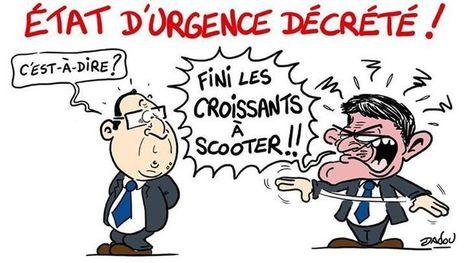 Etat d'urgence décrété | Dessinateurs de presse | Scoop.it