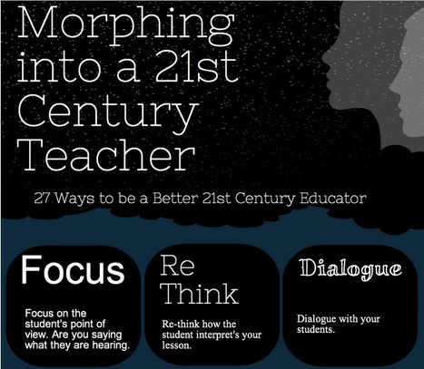 Morphing into a 21st Century Teacher | Digital Literacy; Cyber safety | Scoop.it