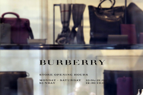 Burberry Goes Solo in Perfume Challenge With Amazon Deal: Retail - Businessweek | Beauty retail news | Scoop.it