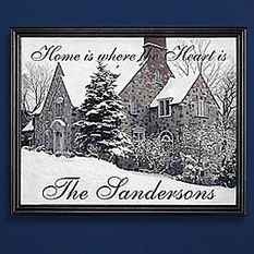 Personalized Home Is Where the Heart Is Photo Canvas | Valentine Gifts for Grandma | Scoop.it