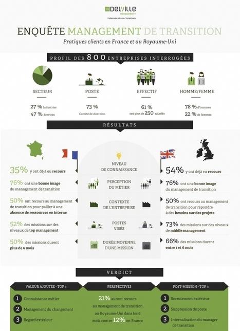 Infographie | Le management de transition en chiffres | Management de Transition - Interim management | Scoop.it