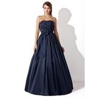 [RUB 5845.63] Платье для Балла Без лямок Длина до пола Тафта Платье Для Выпускного Вечера с Рябь Бант(ы) (018005046) | fashion dress | Scoop.it