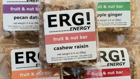 ERG! Fruit and Nut Bar — Start Garden | Local Economy in Action | Scoop.it