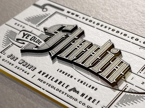 20 Amazing Business Cards Using Unusual Materials | Norasack Design | Scoop.it