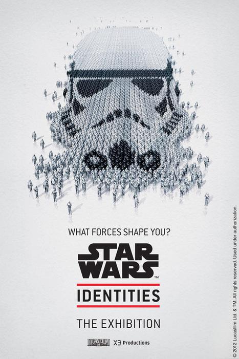 Bleublancrouge – Star Wars Identities Portraits   Conception   Scoop.it