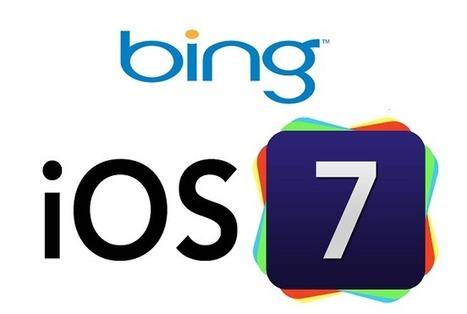 Bing et Apple : une affaire qui tourne | Réseaux sociaux | Scoop.it