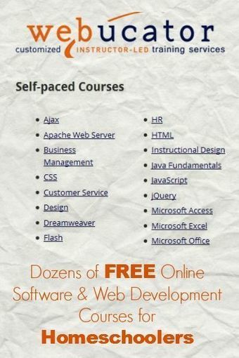 Free Online Software & Web Development Courses for Homeschoolers | Personalized Professional Development | Scoop.it