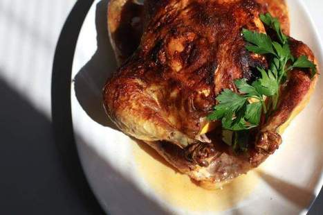 Orange Ginger Roasted Chicken - Detroit Free Press | food science | Scoop.it