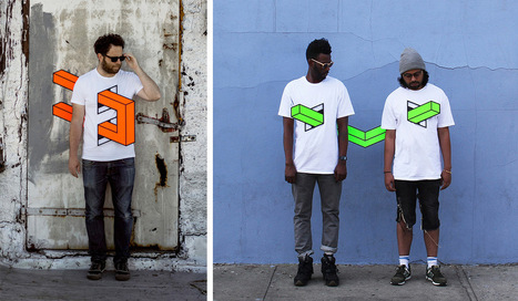 People Skewered with Geometric Shapes by Aakash Nihalani | MatNet | Scoop.it