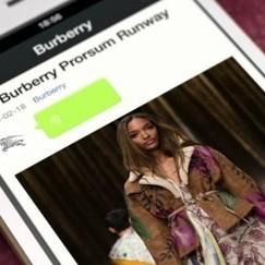 Burberry s'associe à WeChat   Best Practices Brand & Social Media   Scoop.it