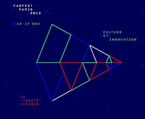 FABFEST - Culture et innovation | 14 au 17 novembre 2013 - @ Gaîté Lyrique | Diffusion de la culture | Scoop.it