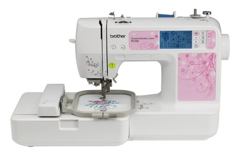 Brother PE500 embroidery machine Review - best embroidery machine | How to find the best embroidery machne | Scoop.it