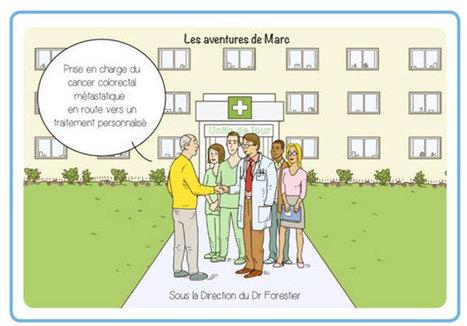 Cancer colorectal : une BD pour aider les patients diagnostiqués - Senior Actu | L'actualité de Merck en France | Scoop.it