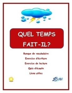 Weather in French | French Resources to Download and Print | Scoop.it