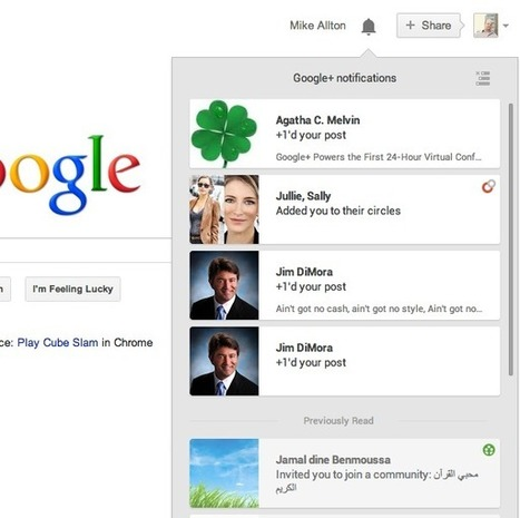 New Google+ Notifications Make Life Easier | Digital Publishing Spotlight | Scoop.it