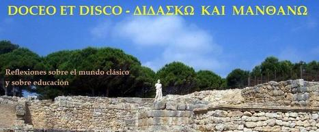 DOCEO ET DISCO -- ΔΙΔΑΣΚΩ ΚΑΙ ΜΑΝΘΑΝΩ: Aprender Griego clásico | AURIGA | Scoop.it
