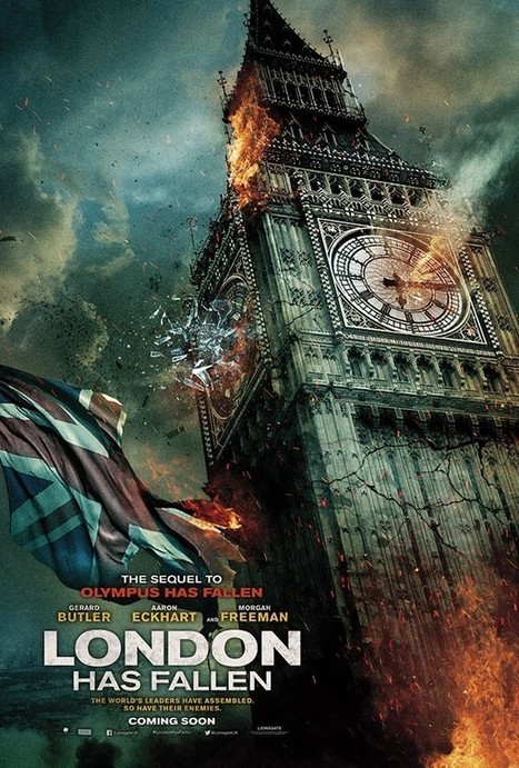 London Has Fallen Gets an Explosive New Trailer | Film Reviews with Blazing Minds | Scoop.it