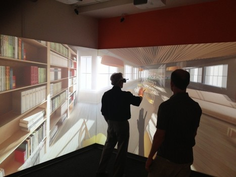 Immersive 3D Experiences For Classrooms With WorldViz CornerCave Virtual Reality System | Games, Pedagogy, & Learning | Scoop.it