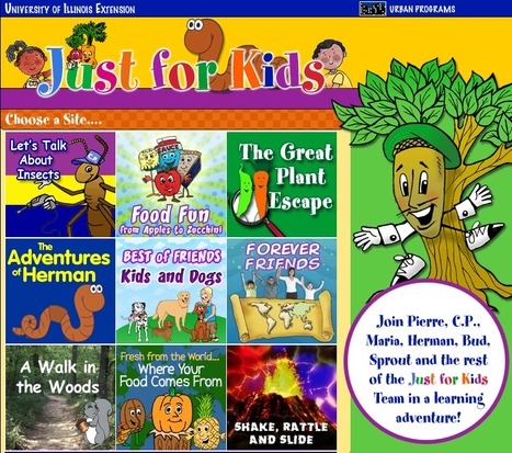 Just for Kids from University of Illinois Extension | KB...Konnected's  Kaleidoscope of  Wonderful Websites! | Scoop.it