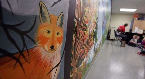 Interactive school mural uses apps to reveal information to students - Fairbanks Daily News-Miner | School Library Learning Commons | Scoop.it