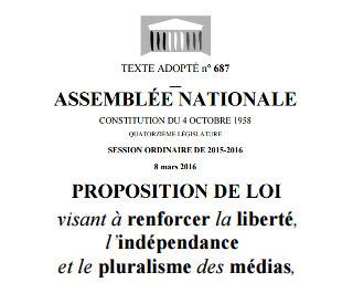 Indépendance des médias: que contient le texte adopté? | DocPresseESJ | Scoop.it