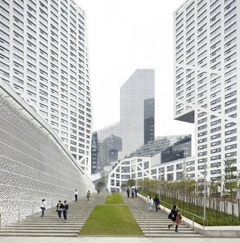 "[ALPHA-VILLE?...]  CHINA: Steven Holl Completes ""Micro-City"" Complex In Chengdu! 