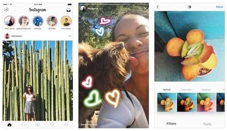 Instagram comienza a probar una función para emitir vídeo en directo   Aprendiendoaenseñar   Scoop.it