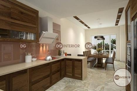 Các cách thiết kế nội thất nhà bếp đẹp kiểu dáng hiện đại | Thiet ke noi that chung cu Royal City | Scoop.it