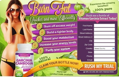 Vitamax Garcinia Cambogia - Get FREE Trial Only Here | Do not Take any weight reduce products first read about Vitamax Garcinia Cambogia | Scoop.it