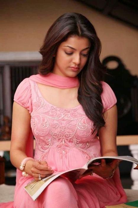Kajal aggarwal hot latest hd photos in pink dress bollywood hd