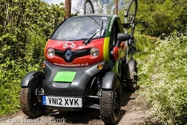 Renault Twizy goes rural to prove its at home on the hills | Electric Vehicles | Scoop.it