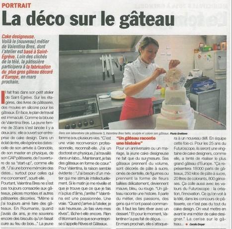Rêves et Gâteaux dans le GreNews | Rêves et Gâteaux & Cie | Scoop.it