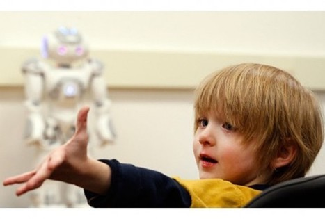 Robotic Therapist Proves Effective For Children With Autism - Health News - redOrbit | CounselorConnections | Scoop.it