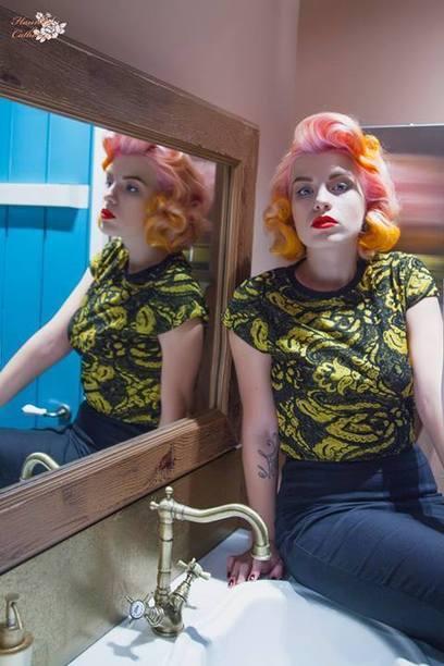 The Mysterious Beuaty of Polina Gagarina by Photographer Radmila Rocky Zombie | Rockabilly | Scoop.it
